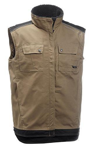 work wear men s chelsea lined vest