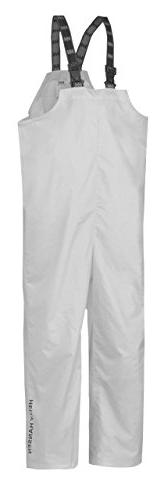 Helly Hansen Work Wear Men's Processing Waterproof Bib, Whit