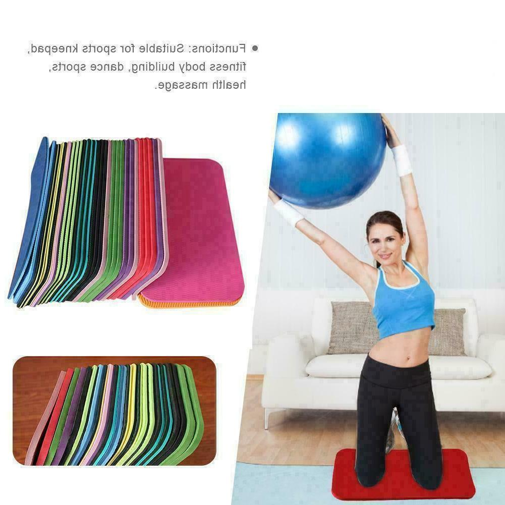 Yoga Knee Pad Cushion Anti-Slip Thick Exercise Travel Fitnes