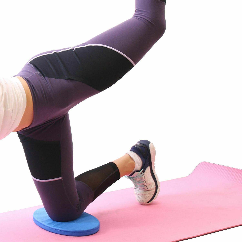 Yoga Pad Cushion Balance Mat Pilates Home Exercise