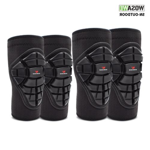youth mtb knee pads elbow pads set