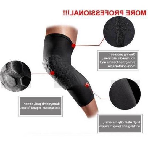 Youth Pad Support Long Leg Brace Sport Basketball