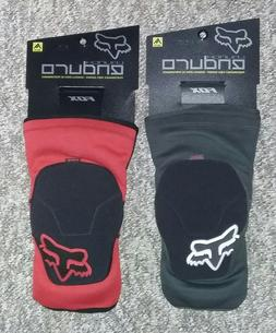 Fox Launch Enduro Knee Pads  Red & Black - Medium - NEW