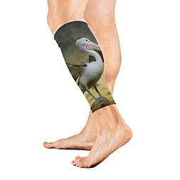 Leg Sleeve Big Mouth Bird Compression Socks Support Non Slip