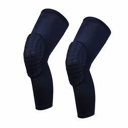 Leg Sleeve Knee Pads For Kids/Adults Men Women Girls Gym Bas