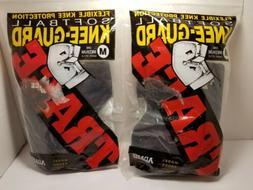 LOT OF 2 Adams USA Trace Short Style Softball Knee Guard Med