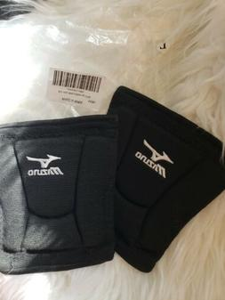 Mizuno LR6 Black Volleyball Kneepads  Quick Free Shipping