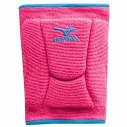 Mizuno Women's LR6 Highlighter Knee Pad, Pink/Diva Blue, Med