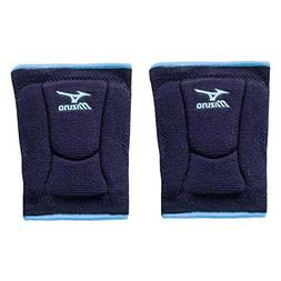 Mizuno LR6 Highlighter Kneepad, Navy/Columbia Blue - Medium
