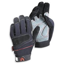 mechanic split leather v glove