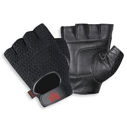 mesh fingerless anti vibe gloves