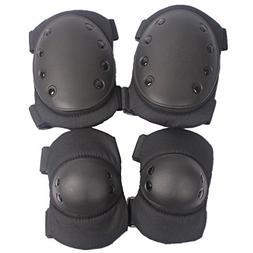 ISEYMI Military Tactical Knee Pad Elbow Pad Set  , Skate & S