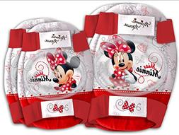 Disney MINNIE MOUSE Childrens Elbow and Knee Pads Set Kids S
