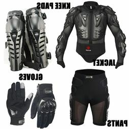 Motorcycle Body Protection Suits Armor Equipment Jacket Knee