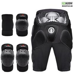 MTB Knee Pads Elbow Brace Hip Impact Shorts Set Protective G