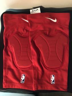 Nike NBA Knee Pad Sleeves Red Size S/M