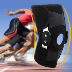 Neoprene Alloy Sports Leg Knee Patella Support Brace Wrap Pr
