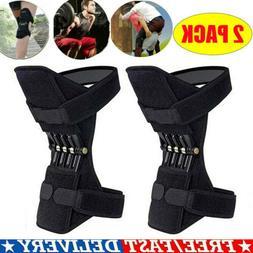 NEW 2x Leg Power Knee Stabilizer Pads Patella Booster Spring