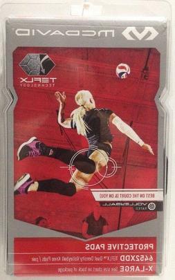McDavid TEFLX Dual Density Volleyball Knee Pads Adult XL Bla