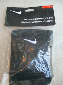 NEW Nike Dri-Fit Streak Black Volleyball Knee Pads Unisex XL