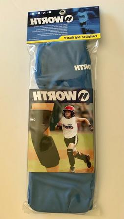 NEW Worth Fastpitch Softball Knee Pads, Royal Blue