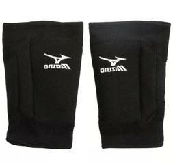 NEW Mizuno LR6 Volleyball Knee Pads - Black- Large— 2 Pads