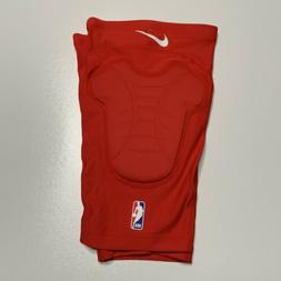 NEW Nike NBA Pro HyperStrong COMPRESSION Red Padded Knee Sle