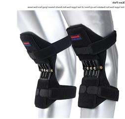 NEW Power Knee Stabilizer Pads Powerful Rebound Spring Force