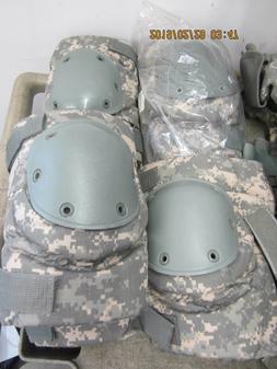 New BIJAN'S KNEE PADS Military Army ACU UNIVERSAL CAMO KNEE