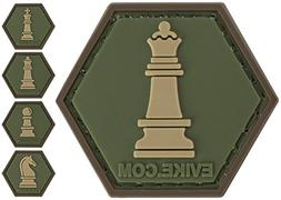 Evike Operator Profile PVC Hex Patch Chess Series - Queen -