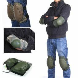 Outdoor Elbow Knee Pads Protective Tactical Combat Cycling S