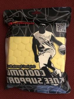 COOLOMG Pad Crashproof Antislip Basketball Knee Short Sleeve