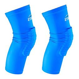 VSPORTS Padded Compression Leg Sleeve Vollyerball Basketball