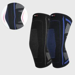 Padded Knee Sleeves  Basketball Volleyball Sport Knee Pads Y