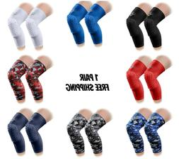 padded knee sleeves 1 pair basketball volleyball