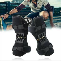 Pair Knee Pads Booster Joint Support Brace Lift Squat Sport