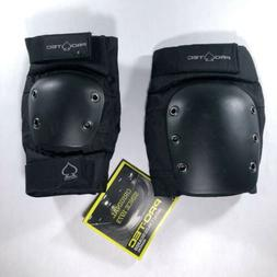 Protec PARK Skateboard KNEE Pads and Elbow Pads Black Small