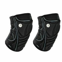 Dye Perform Black Knee Pads For Paintball Players - XXL
