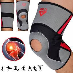 Plus Size Large Knee Brace Support Compression Sleeve Breath