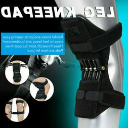 Power Knee Stabilizer Pads Powerful Rebound Spring Force Sup