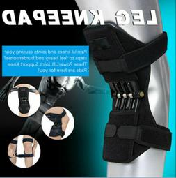 Power Lift  Knee Stabilizer Pads Powerful Rebound Spring For