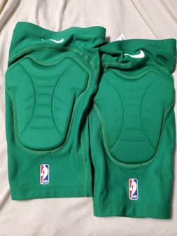 Nike Pro HyperStrong Padded Knee Shin Sleeves 2PC Green UNIS