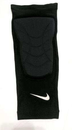 Nike Pro HyperStrong Padded Knee Sleeves Black White Swoosh