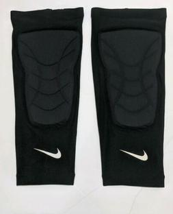 Nike Pro HyperStrong Padded Knee Sleeves/Shin guard Black Wh