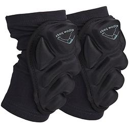 Guide Protective Elbow Pads Support Compression Padded Shoot