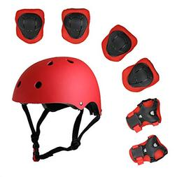 Lucky-M Kids Outdoor Sports Protective Gear,Boys and Girls S
