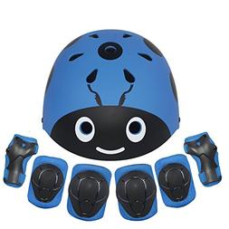 Lanova Kids Protective Gear Set,7Pcs Sport Safety Equipment