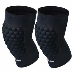Coolomg Protective Knee Pads Sports Antislip 1Pair for Kids/