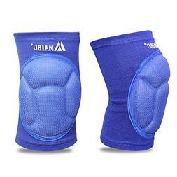MAIBU Protective Volleyball Knee Pads Thick Sponge Anti-Coll