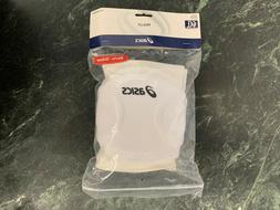 ASICS, RALLY KNEE PAD, WHITE, ONE SIZE FITS ALL, COTTON/POLY